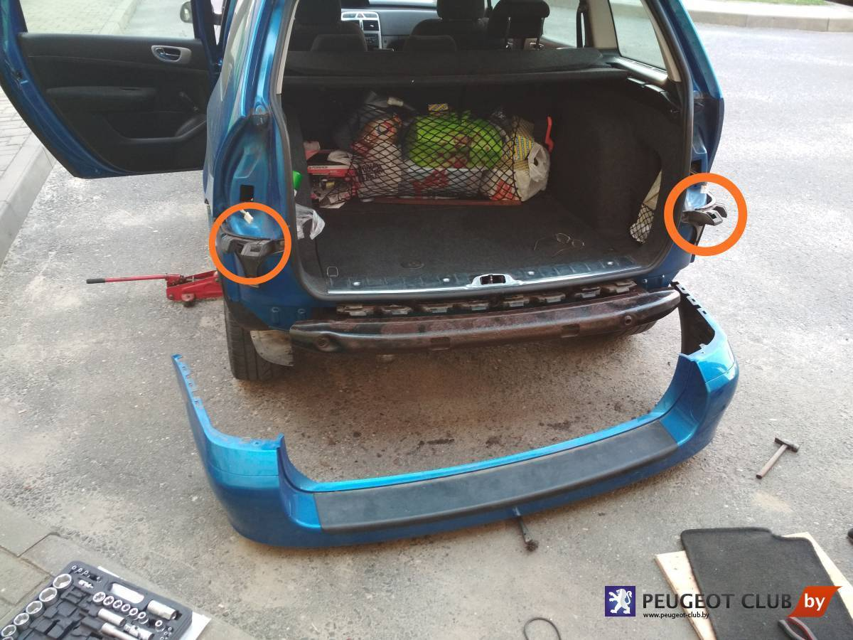 Проблема с задней крышкой багажника 307