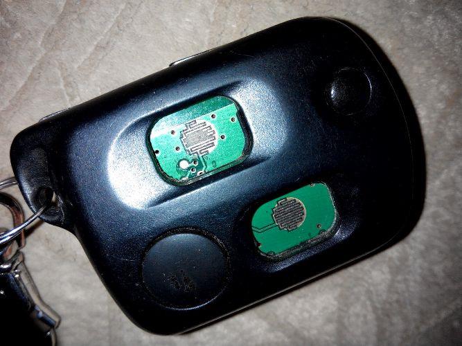 Замена кнопок ключа зажигания