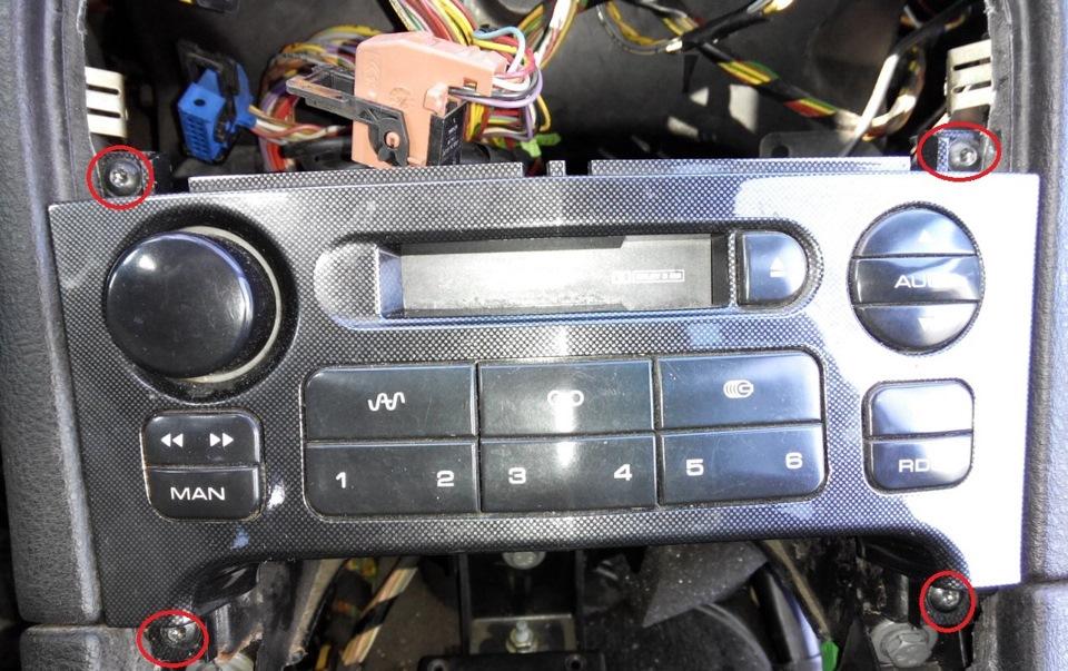 AUX через кассетник в магнитоле RM2
