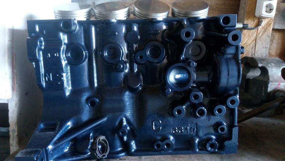 Капитальный ремонт двигателя 1.6 NFZ