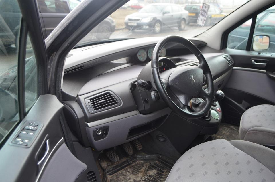 Чудеса трансформации салона Peugeot 807!)))