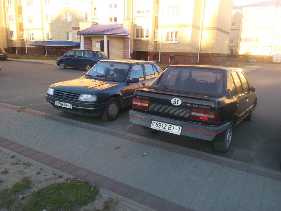 Движуха со старыми Peugeot продолжается!