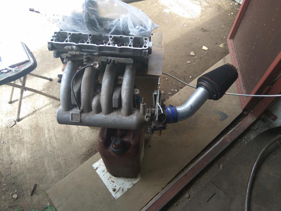 Продувка ГБЦ Peugeot 405 1.9mi16 и Xsara VTS 2.0i (306gti 2.0)