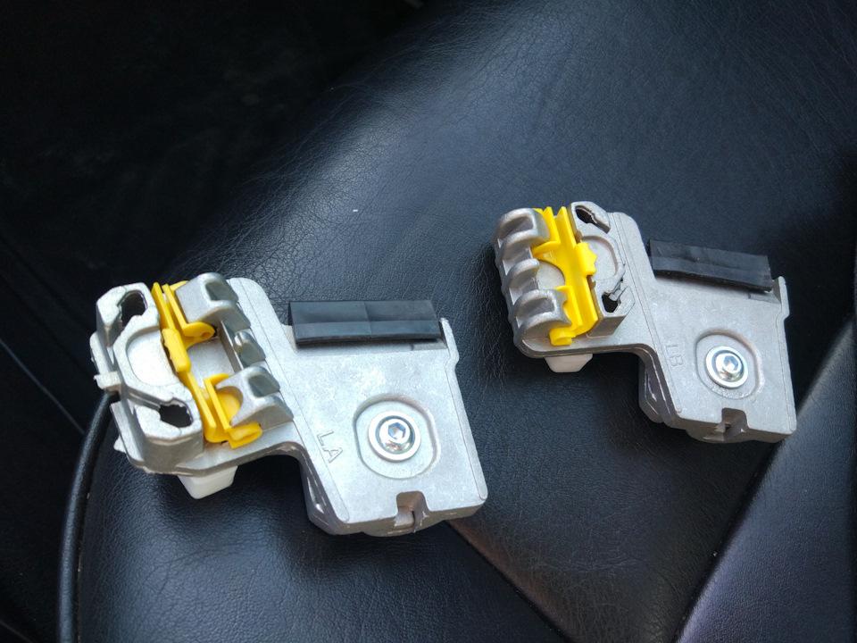 Замена направляющих водительского стеклоподъёмника