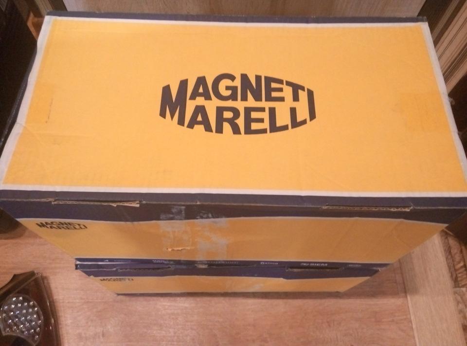 Magneti Marelli. Долгожданные задние фонари=)