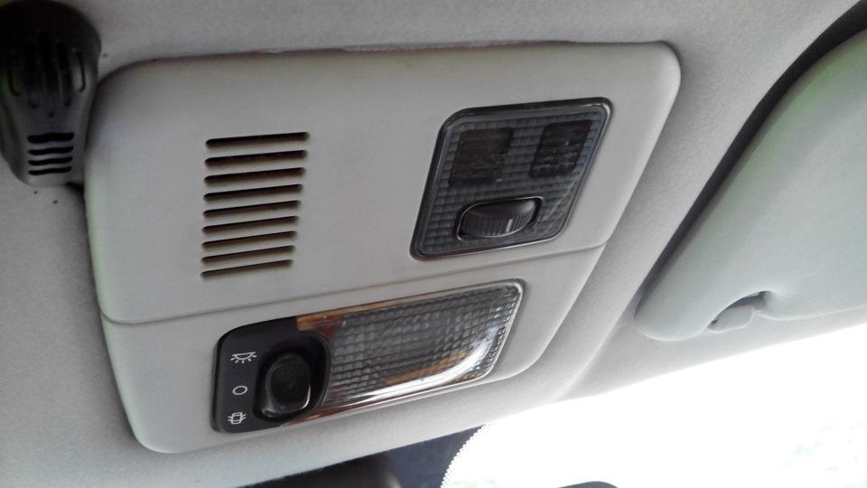 Чистка потолочного плафона, вентиляторчика и датчика температуры