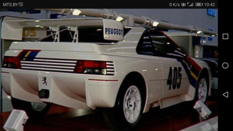 Мало кто знает, но была и такая версия Пежо 405!