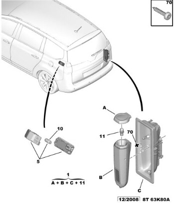 Дополнительный свет в багажное отделение