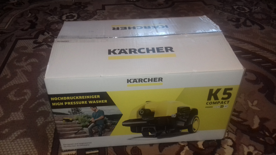 Аппарат высокого давления Kärcher K 5 COMPACT