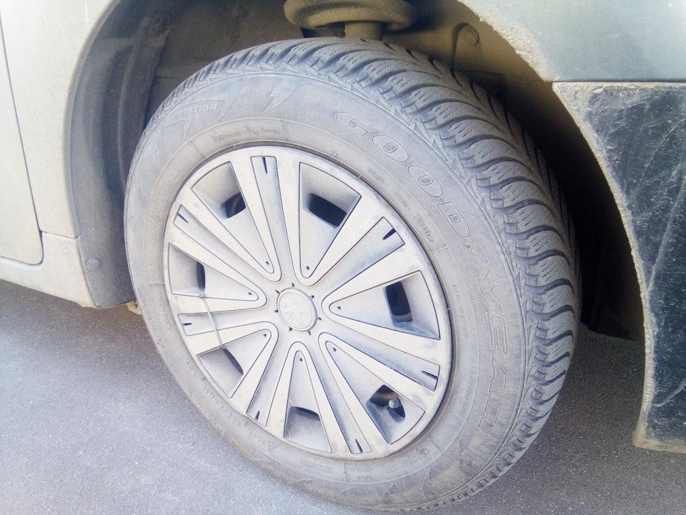 Зимние колеса для Пежмота