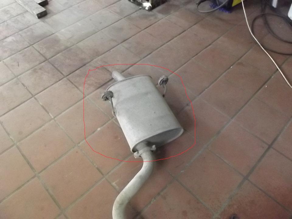 Куплю заднюю банку глушителя для Peugeot 406 2.0 бензин (XU10J4R) RFV