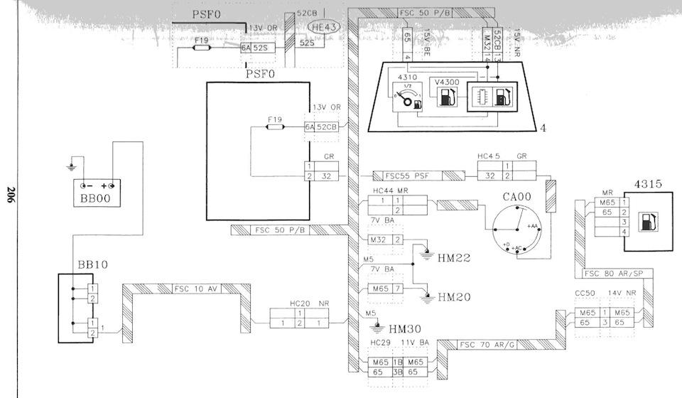 Описание подключения бортового компа и электронного указателя топлива в баке