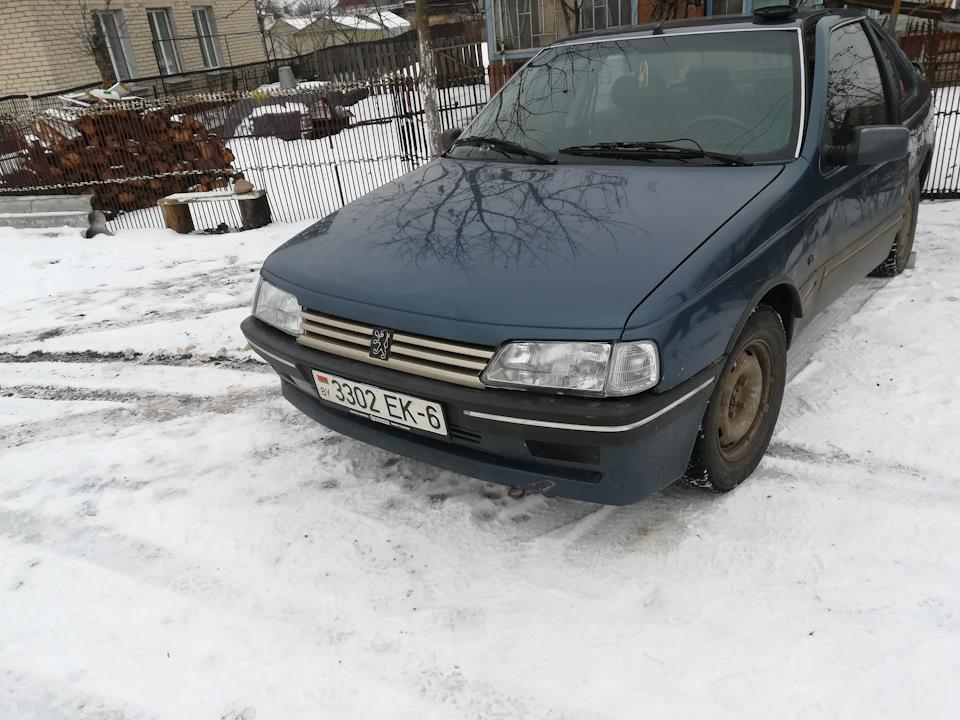 Частичка Citroen C5 в Peugeot 405)))