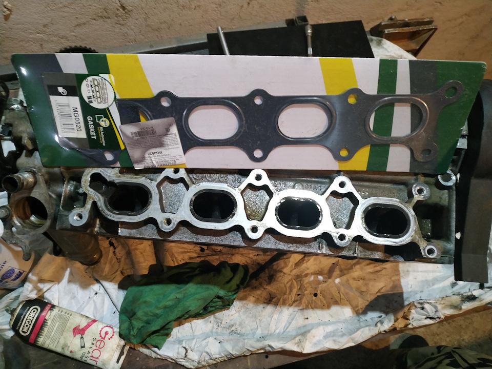Капиталка мотора 3 FZ Peugeot 607 часть 3