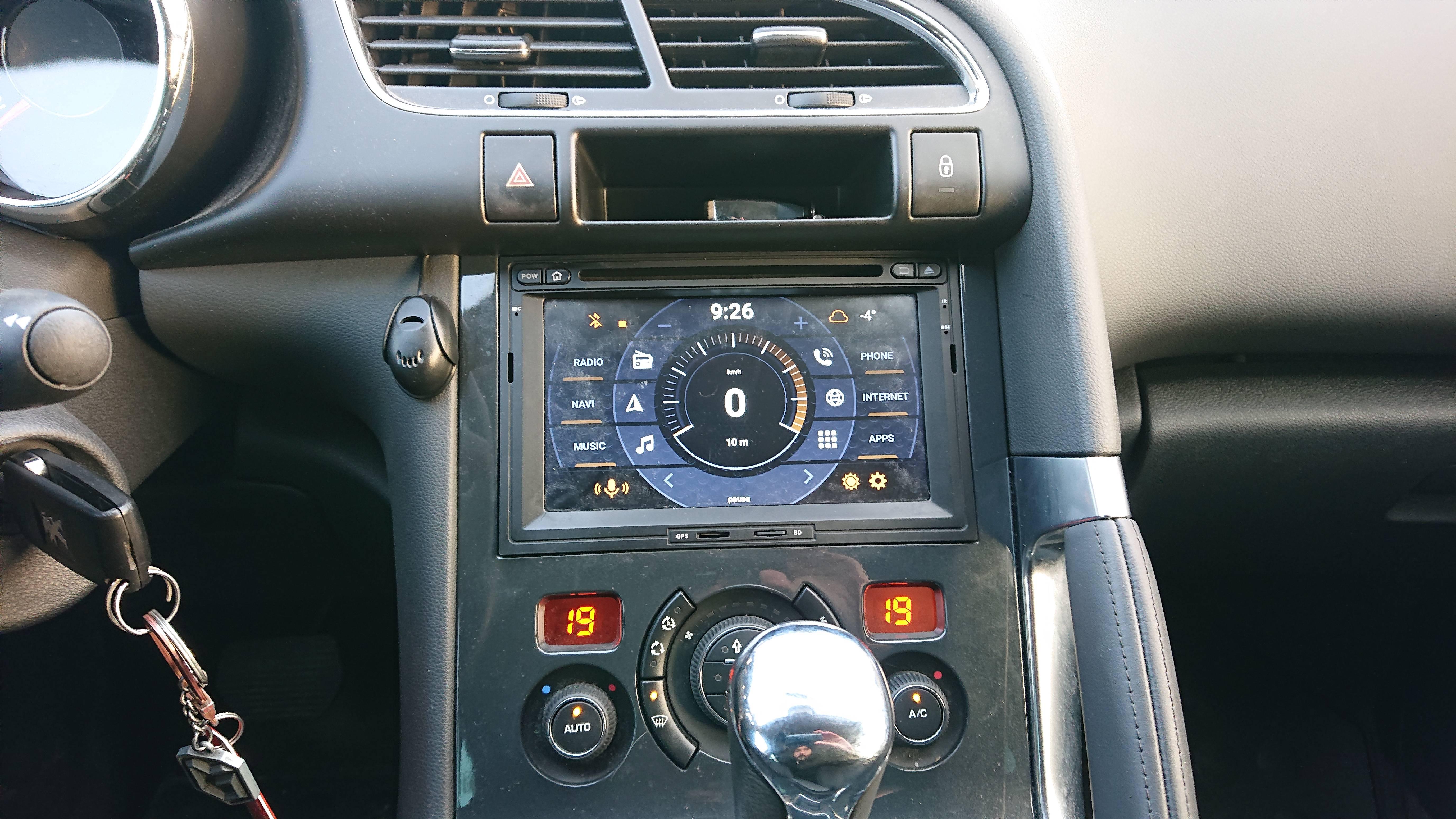 Автомагнитола Carmedia KD-7081 для Peugeot, Citroen