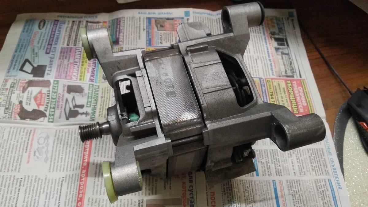 Замена подшипников электромотора стиралки Bosch WLX16160 OE