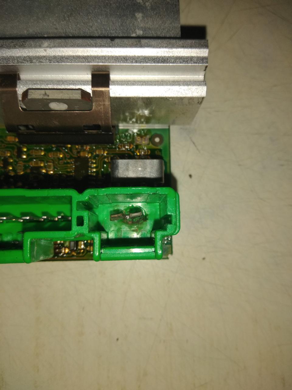 Регулятор вентилятора печки