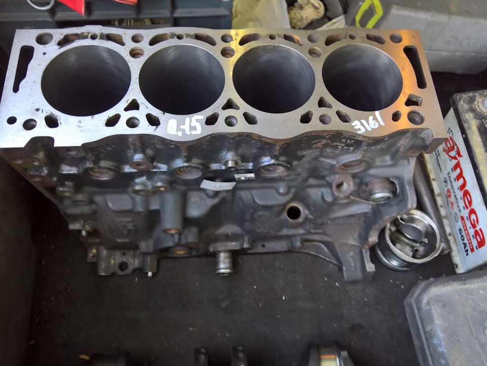 Капиталка двигателя (ПОЛНАЯ) (тизер)