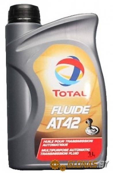 TOTAL FLUIDE AT42 в гидроусилитель 2 литра