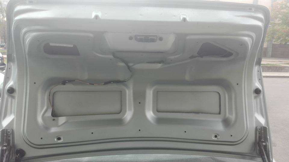 Частичная замена проводки крышки багажника