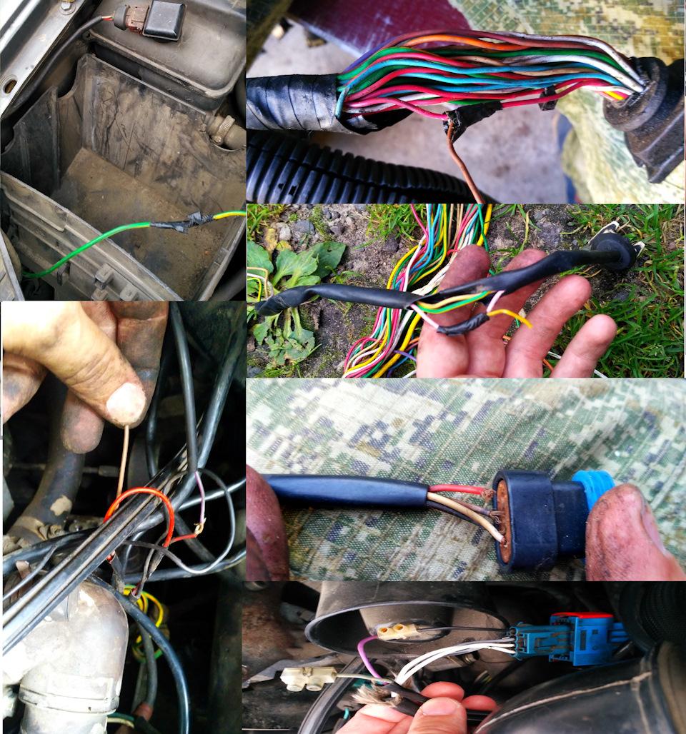 Перебор/замена проводки под капотом