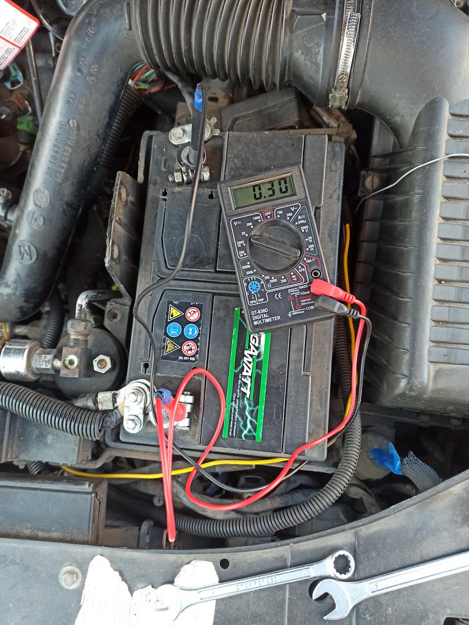 Проблемы с аккумулятором. Его конкретный разряд ((: