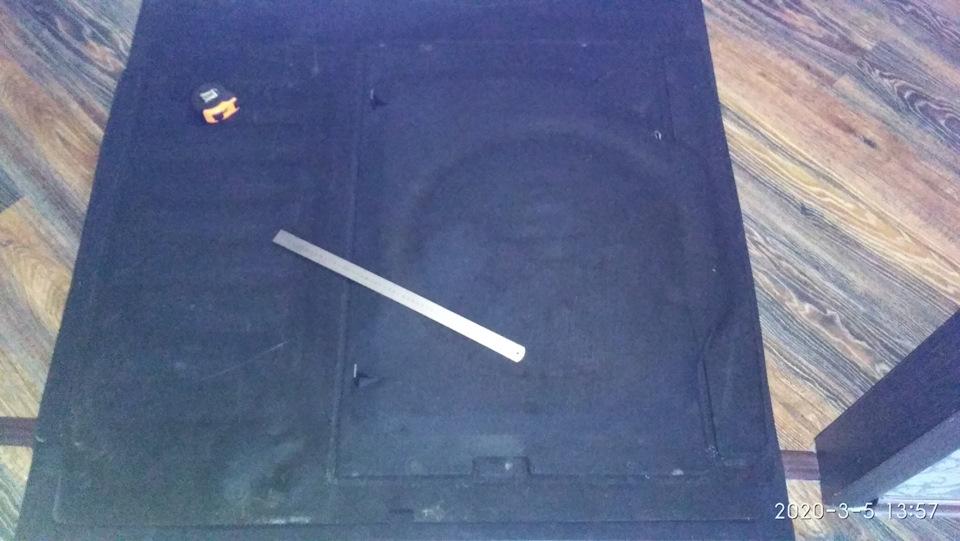 Резиновый коврик в багажник своими руками