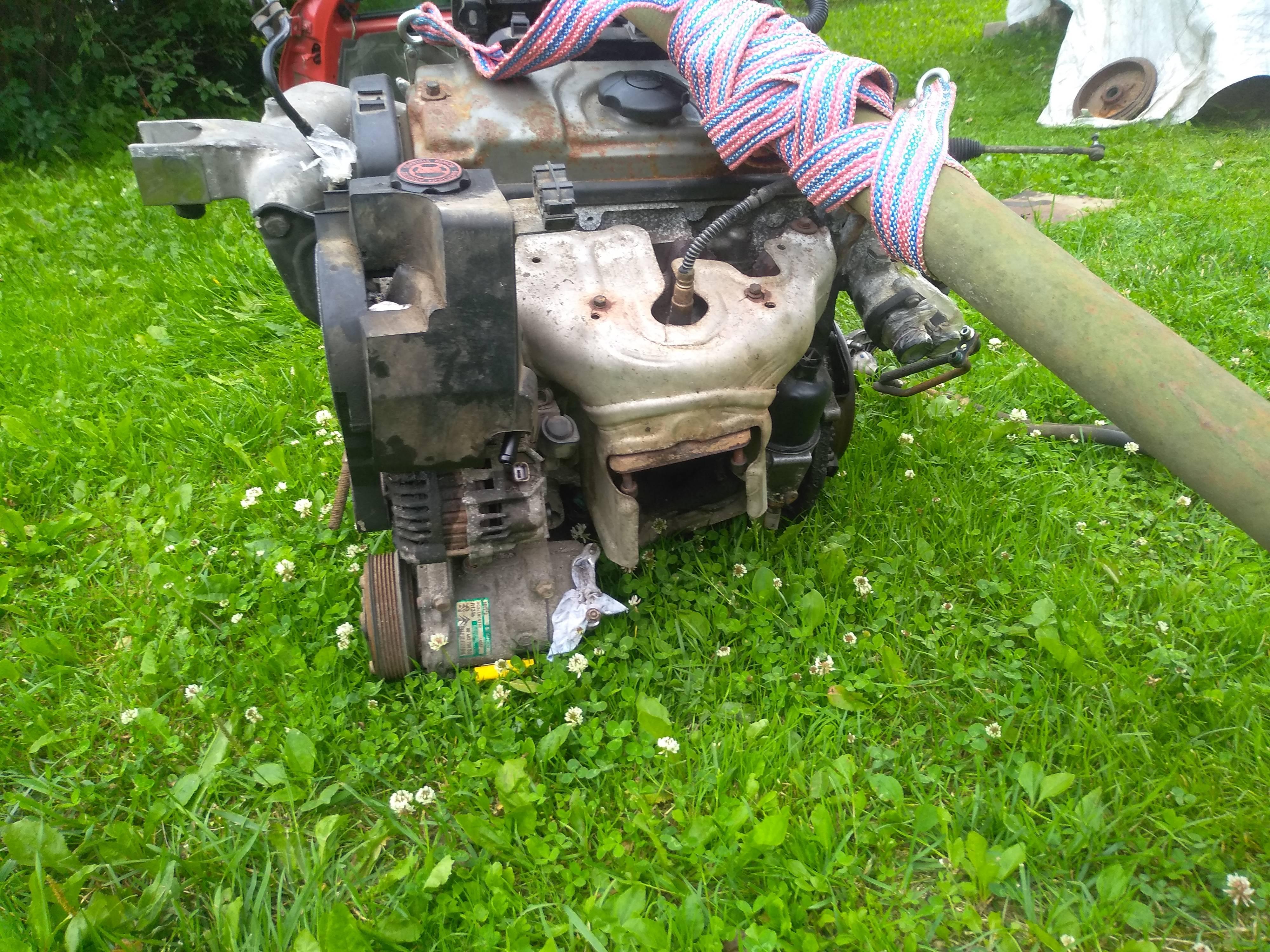 Продам двигатель от Пежо 206
