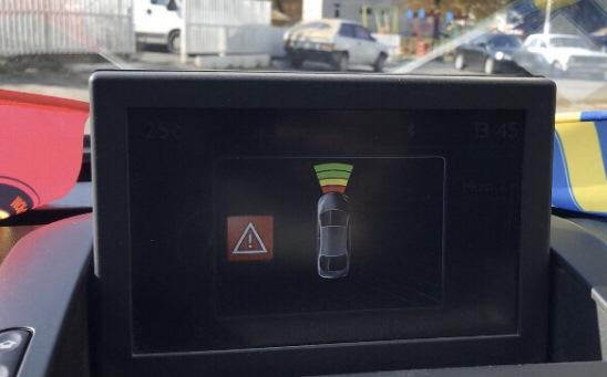 Ремонт системы помощи при парковке (парктроника)
