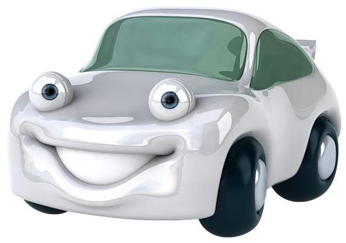Купил новую машину.