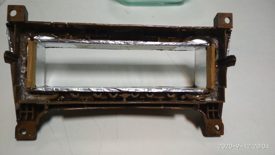 Рамка для магнитолы пежо 607